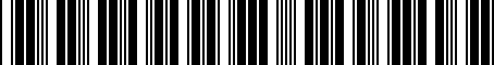 Barcode for 0029134976
